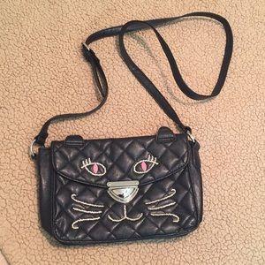 Handbags - Black Cat Satchel Purse